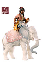 Farm Nativity Elephant Rider (only) 3.54inch color