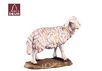 Farm Nativity Sheep standing 3.54inch color