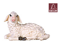 Farm Nativity Lamb resting 3.54inch color