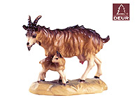 Farm Nativity Goat with Kid 3.54inch color