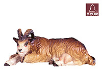 Farm Nativity Goat resting 3.54inch color