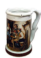 Beerstein Trick Mug The Poachers 7.3inch