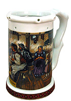 Beerstein Trick Mug The Card Players  7.3inch
