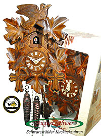1-Day Cuckoo Clock, Gift-Boxed, 9.45 inch